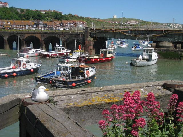 Folkestone Harbour - geograph.org.uk - 1326596