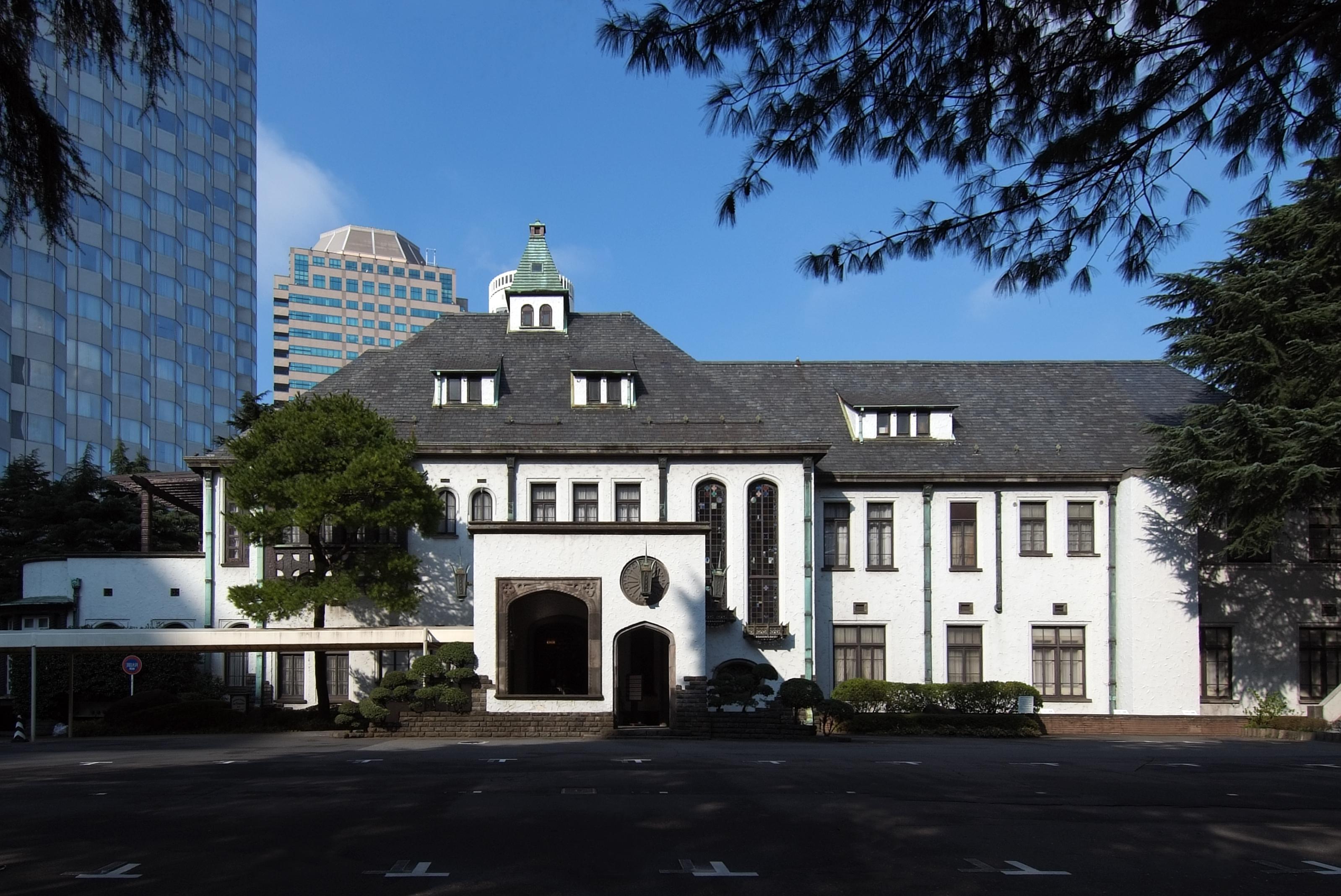 File former house of yi 39 s residence former akasaka prince for Classic house akasaka prince