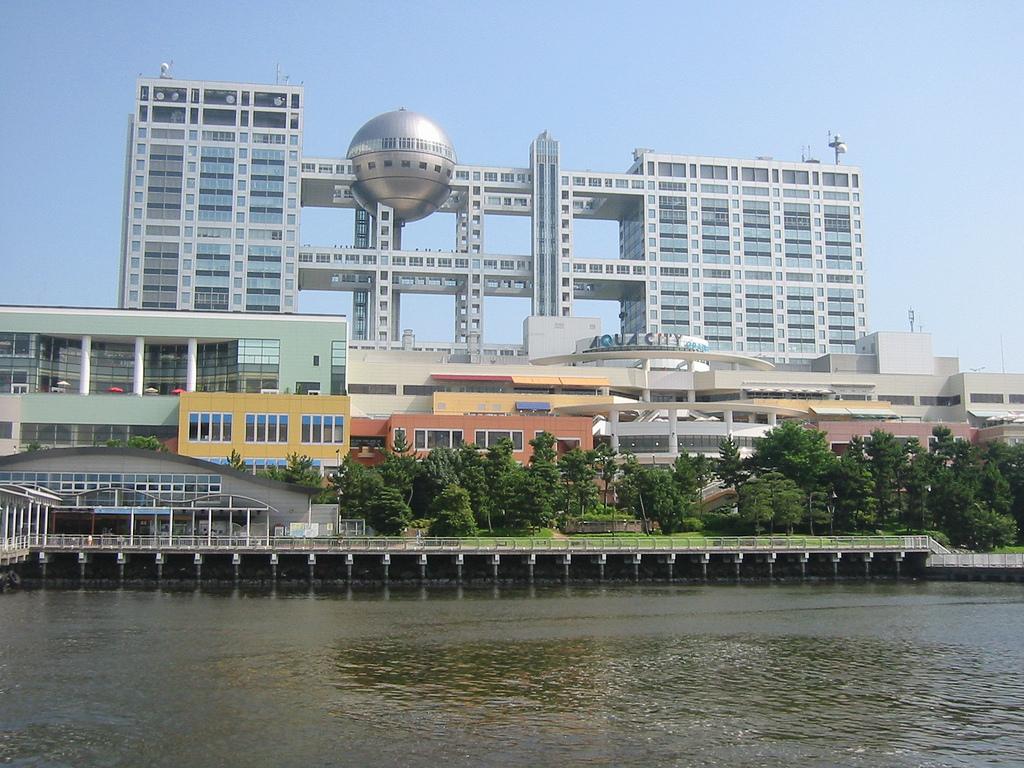 File fuji television hq building wikipedia - Architecture shows ...