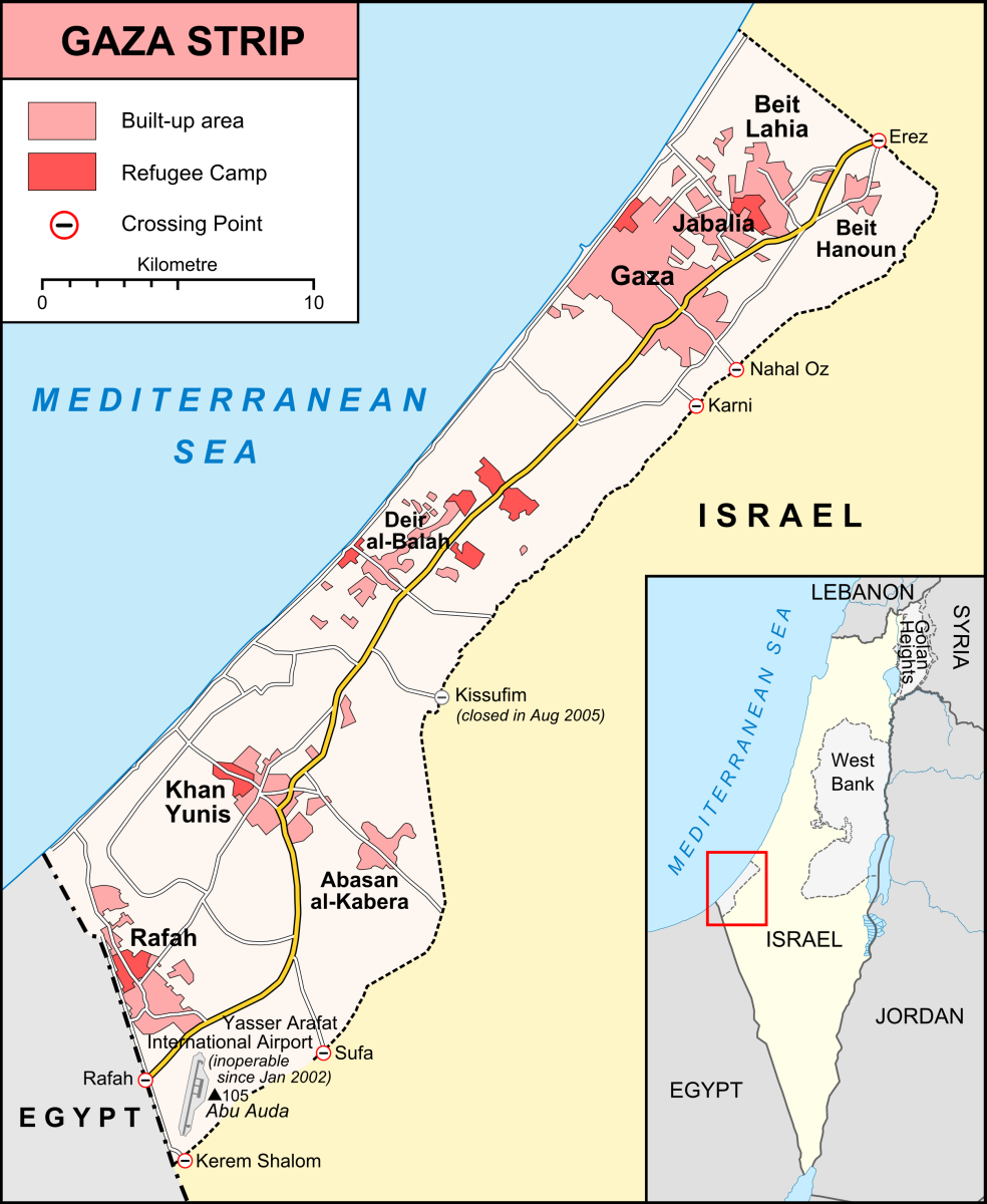 gaza strip fast facts Kingdom Online