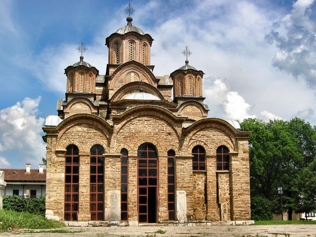 Die Klosterkirche von Gračanica, gebaut im Jahr 1311