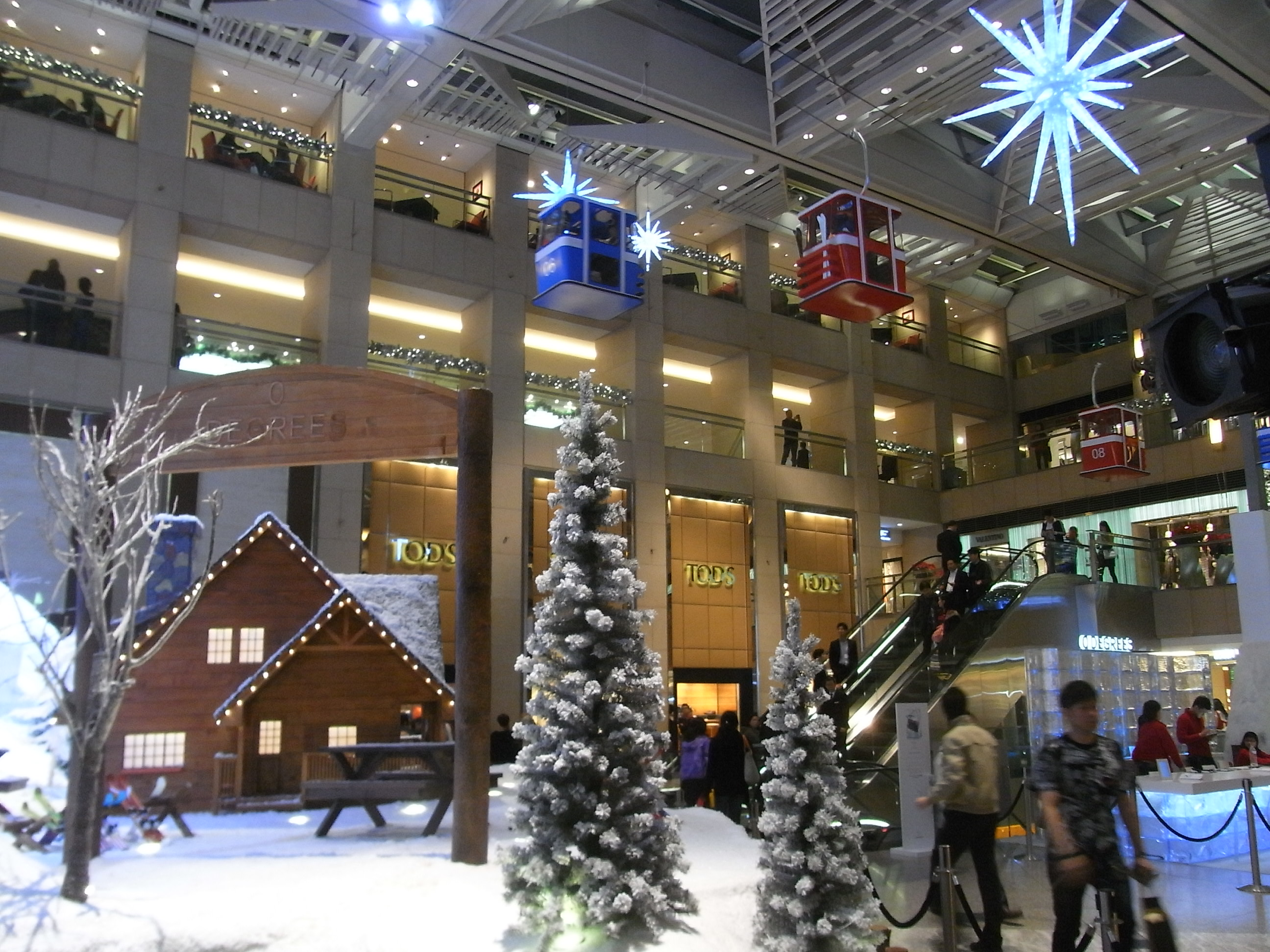 #2B65A0 File:HK Central Landmark Mall Interior Evening 09  6411 décoration noel fabriquer cm1 2592x1944 px @ aertt.com