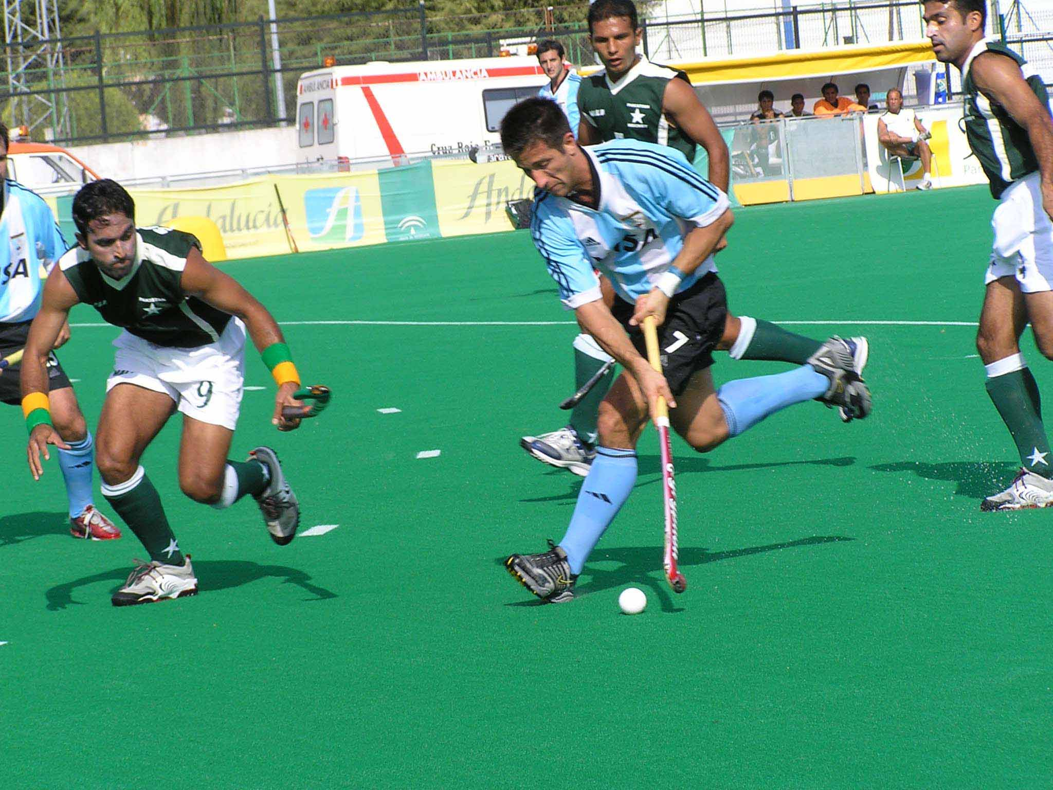 Description hockey argentina pakistan