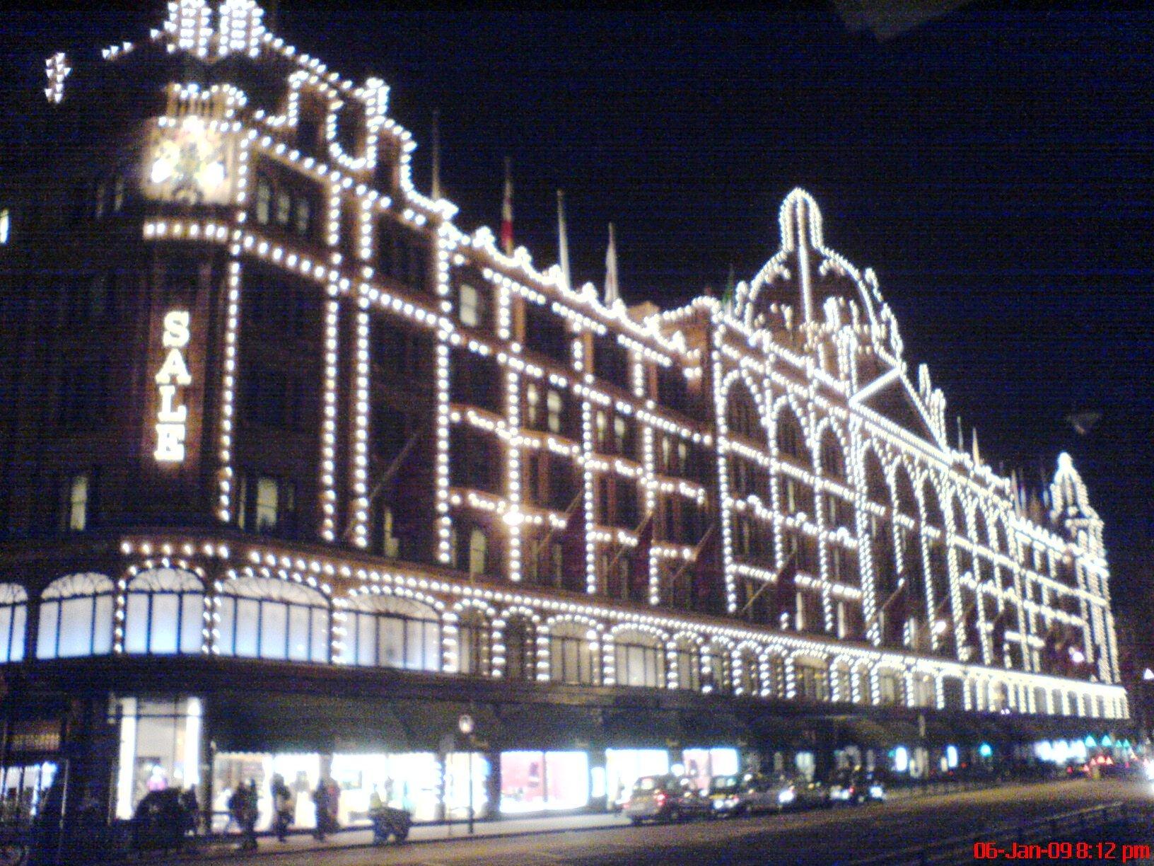 London Shopping Harrods Hamleys Esl Resources
