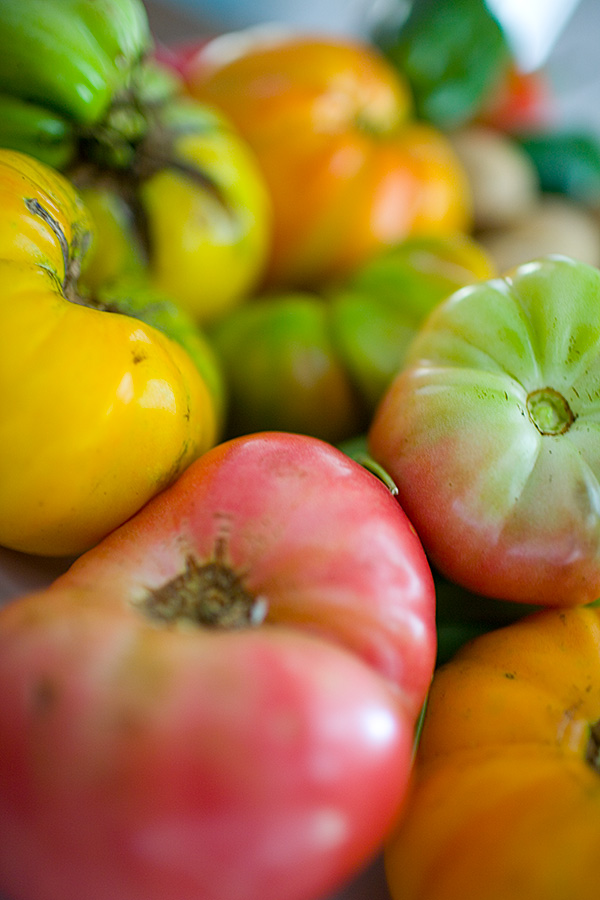 English: Heirloom Tomatoes