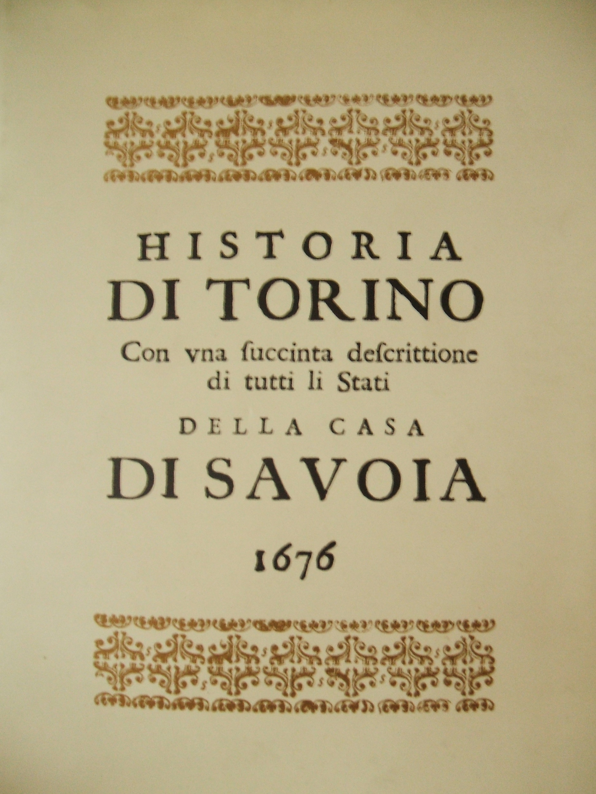 Historia di Torino e li stati di Casa Savoia JPG