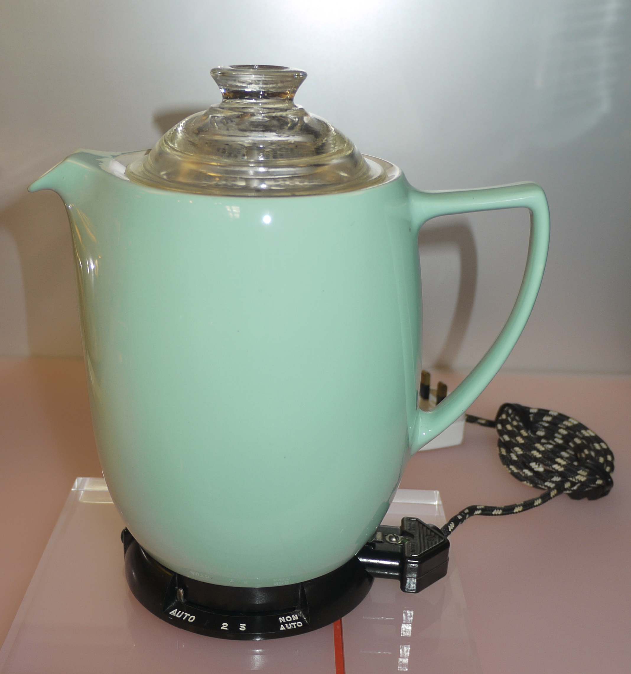 Continental Electric Coffee Maker How To Use : Vintage, Faberware Electric Percolator Coffee Urn, Pot