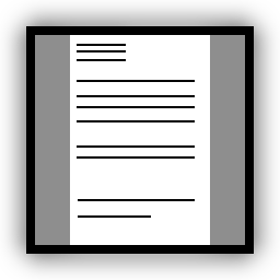 File Icon Full Page 256x256 Png Wikimedia Commons