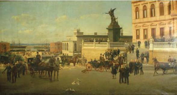 """Resultado de imagen para inauguración del puerto madero en 1889"""""""