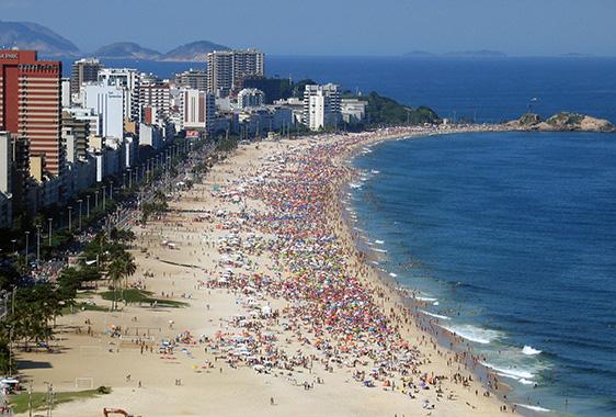 Ipaneman_beach_Rio_de_Janeirossa - 'Girl from Ipanema' turns 50 - Lifestyle, Culture and Arts