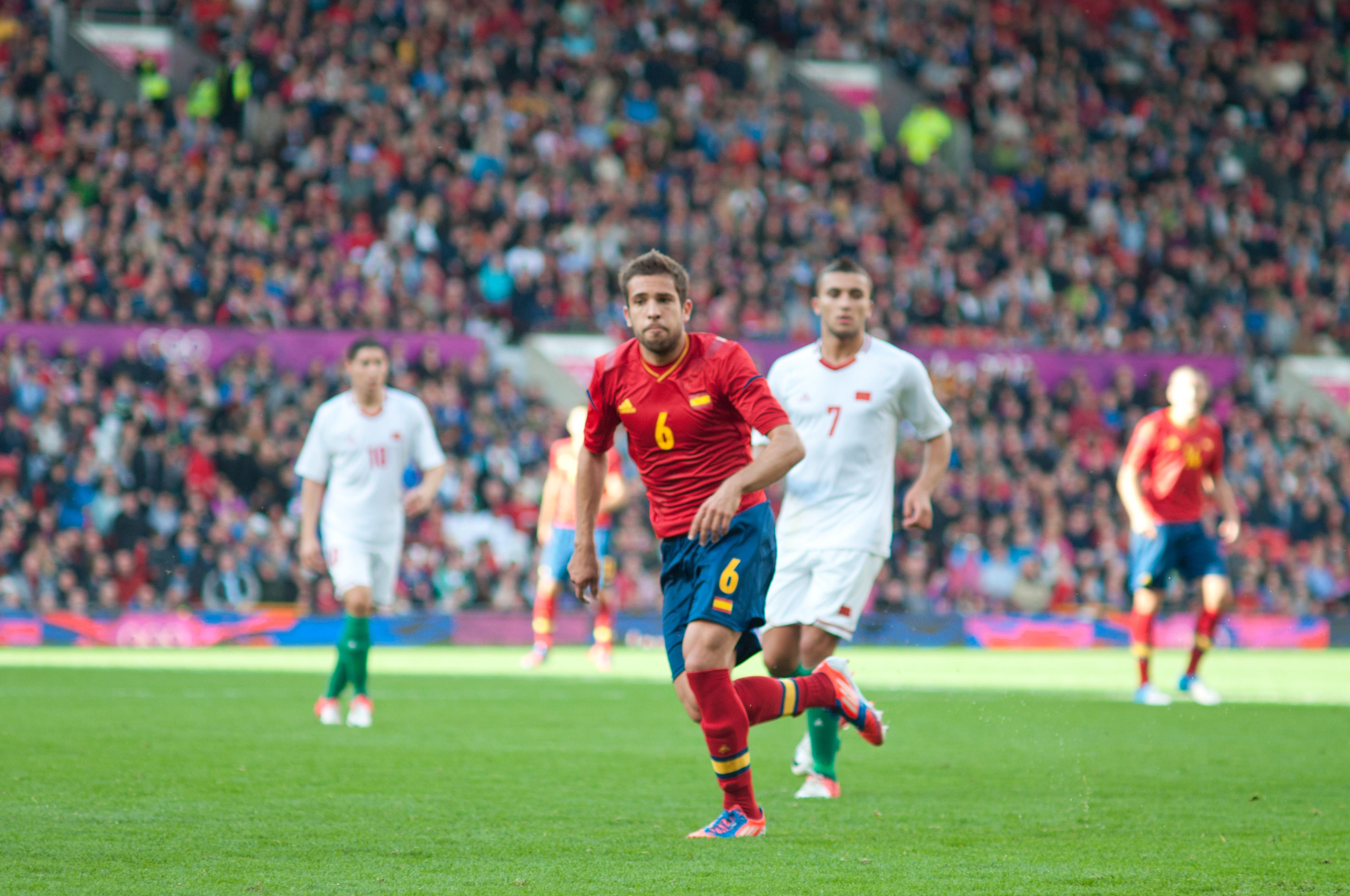 File Jordi Alba vs Morocco 2012 Olympics Wikimedia mons