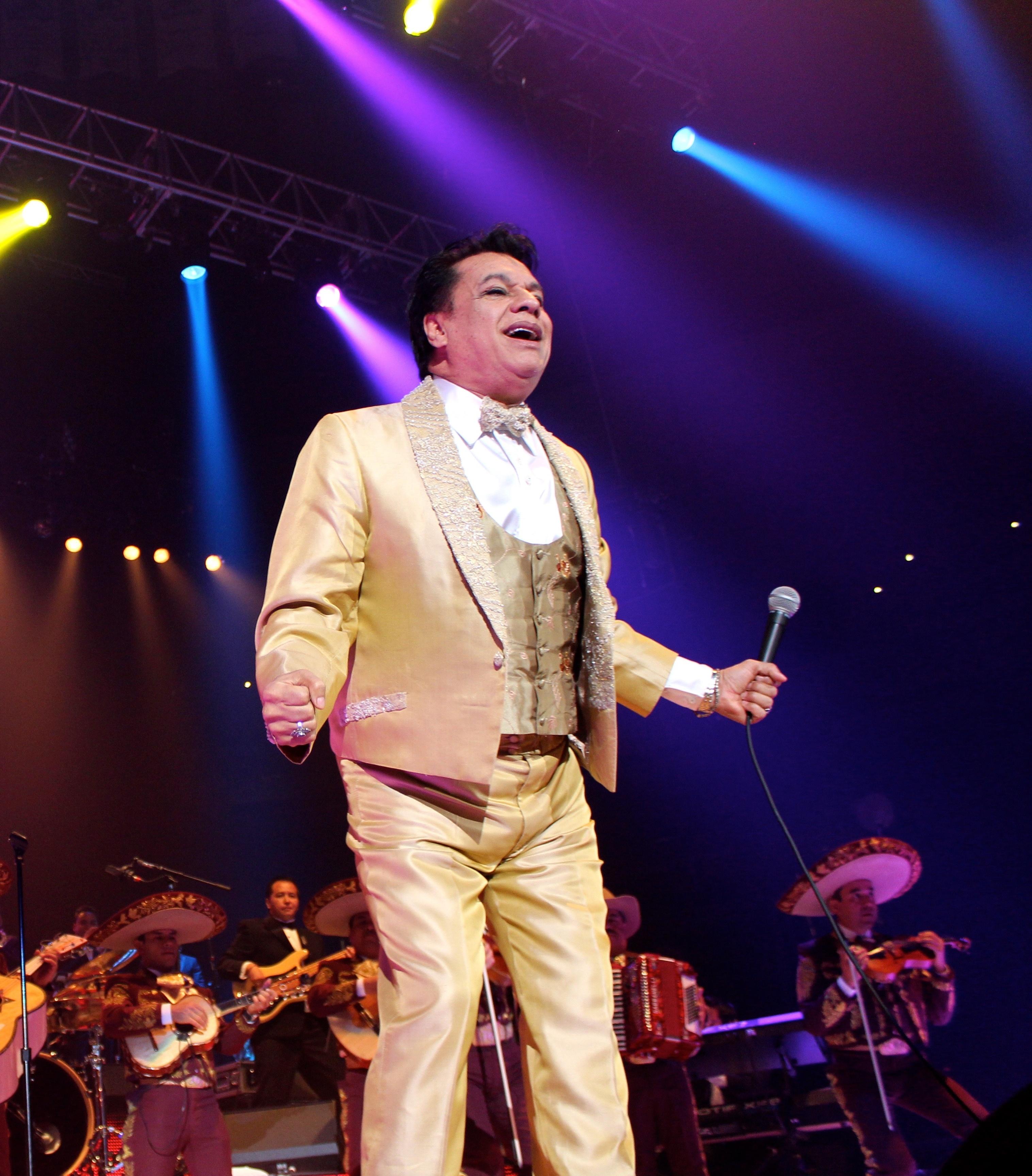 Juan Gabriel en concierto; 2014.
