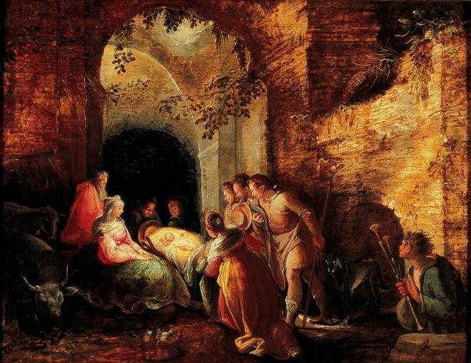 Karel van Mander - Adoration of the Shepherds 1598