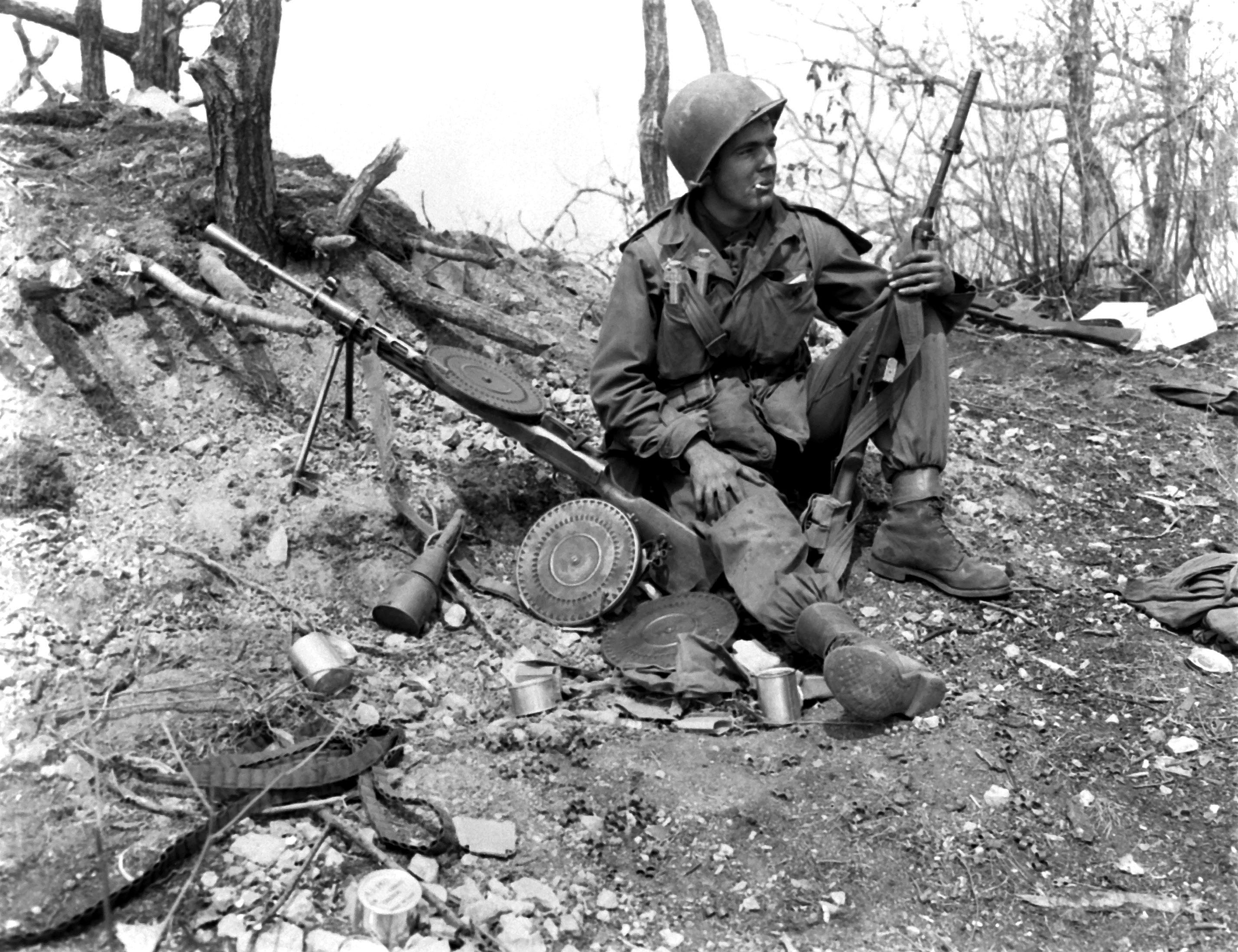 Description korean war ha sn 98 07010