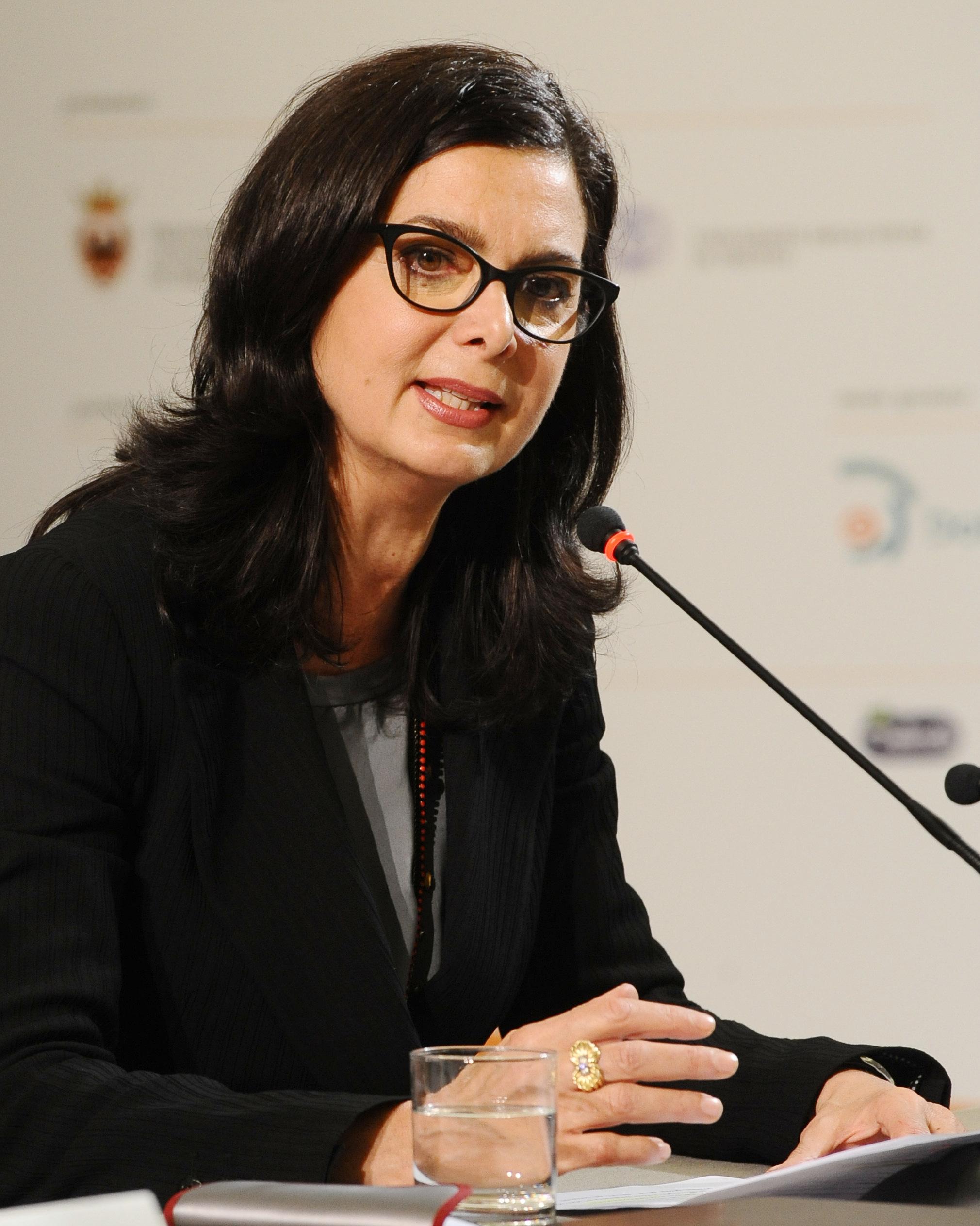 File laura boldrini festival economia 2013 jpg for Parlamentari donne