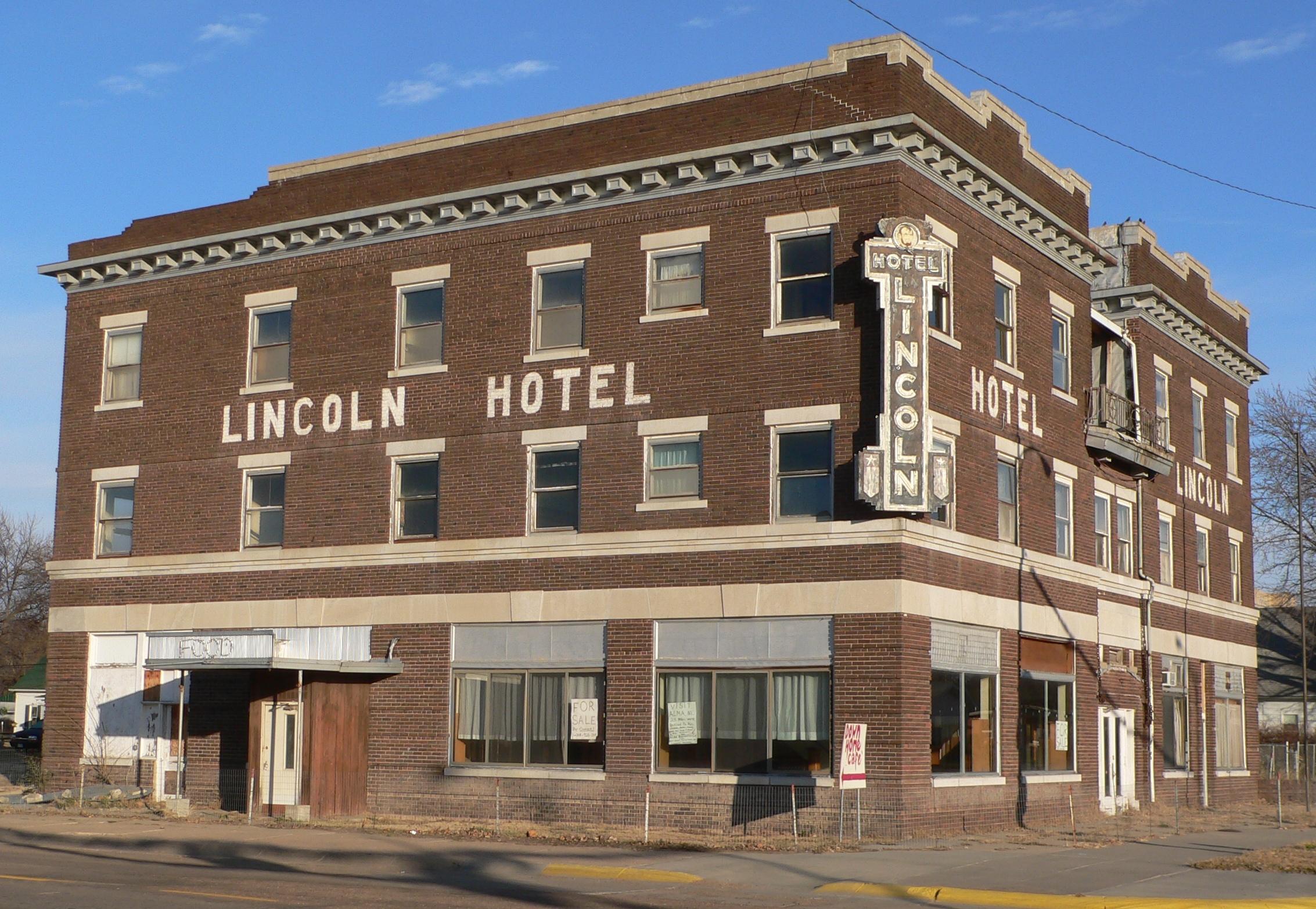 file lincoln hotel franklin nebraska from se 2 jpg. Black Bedroom Furniture Sets. Home Design Ideas