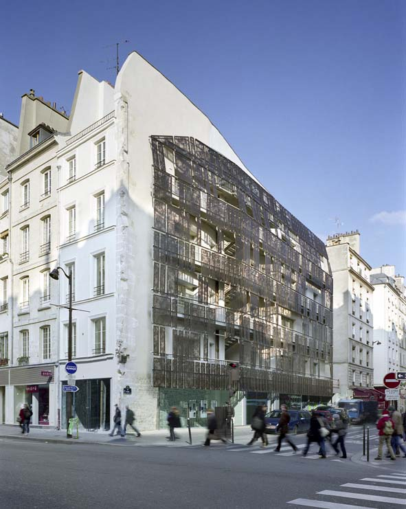 file logements sociaux rue de turenne paris 2009. Black Bedroom Furniture Sets. Home Design Ideas