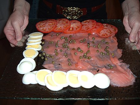 By Glen Edelson from ATLANTA, USA (Lox and eggs) [CC BY 2.0 (http://creativecommons.org/licenses/by/2.0)], via Wikimedia Commons