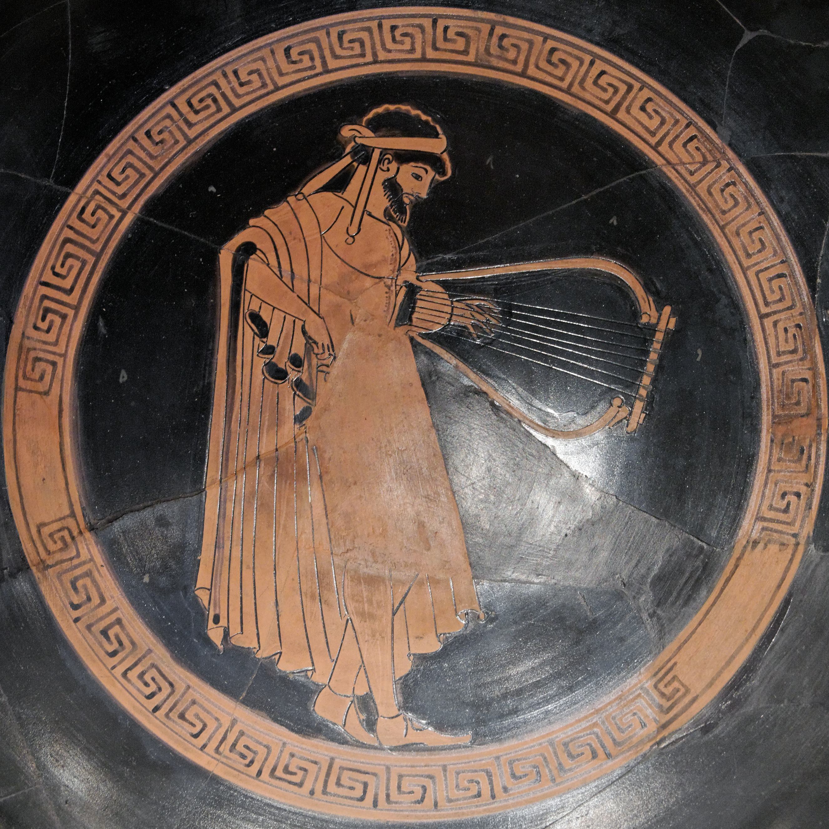 Image result for ancient greek lyre player