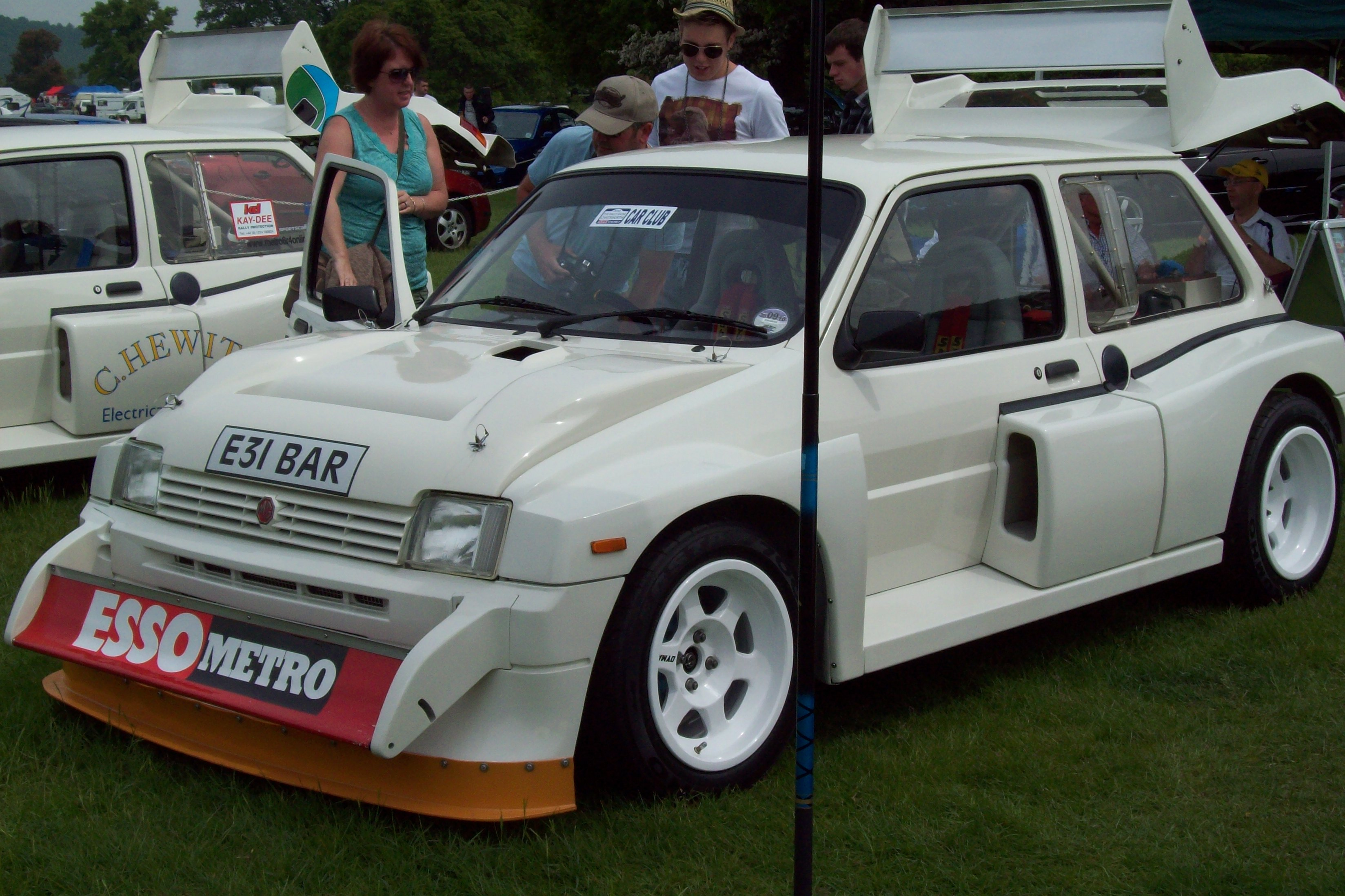 Mg A For Sale >> File:MG Metro 6R4 rally car.JPG - Wikimedia Commons