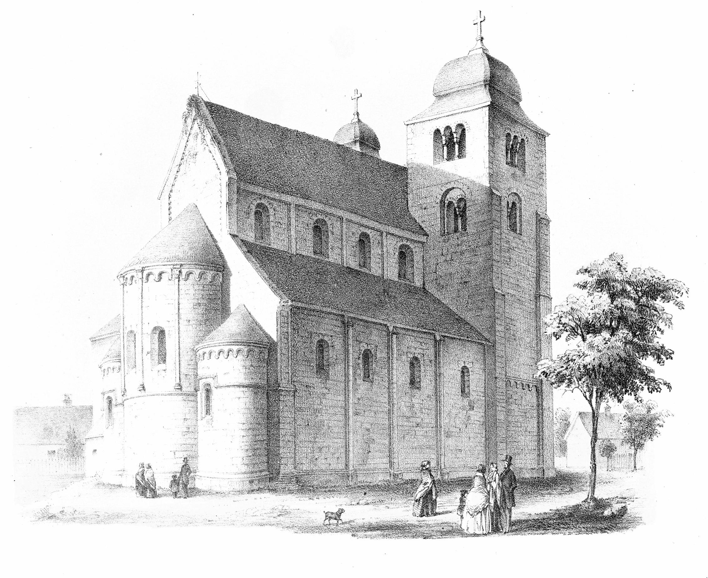 Datei:MZK 002 Nr 01 pag 007 Die romanische Kirche zu Lébeny - Tafel ...