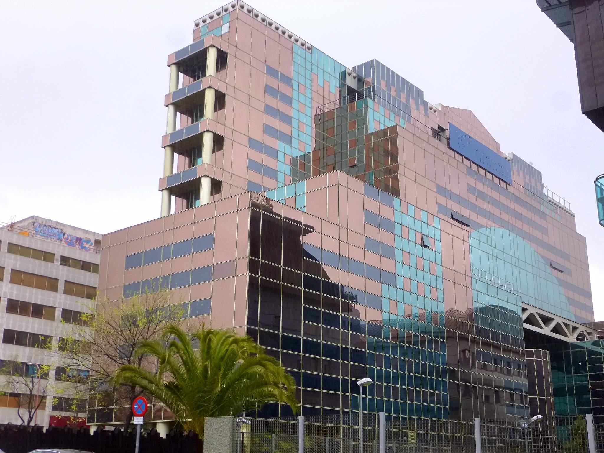 Estado actual de las oficinas Josefa Valcárcel 42
