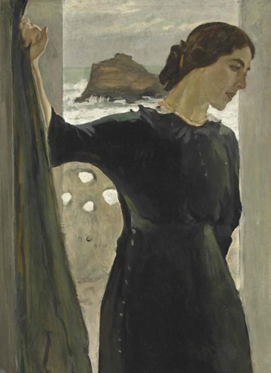 Maria Zetlin by V.Serov (1910, priv.coll.).jpg