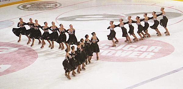 synchronized skating wikipedia