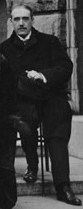 Maurice de Broglie at Third Solvay Conference, 1921.jpg