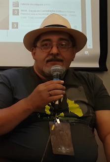 Mauro Ramos em uma palestra. 9ccd9057a3e