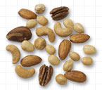 Idealized mixed nuts, USDA