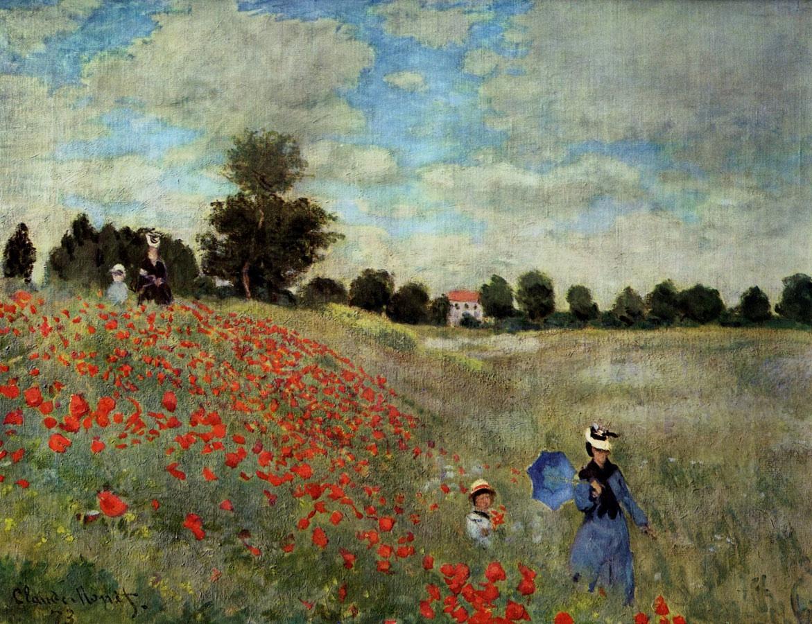 File Monet Mohnfeld Bei Argenteuil Jpg Wikimedia Commons