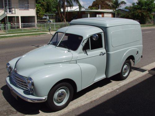 A Morris Cowley MCV Van