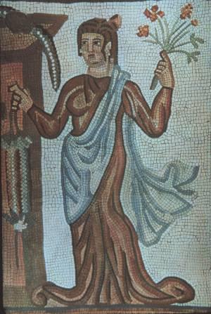 Dracma de Cosroes II. Mosaic01