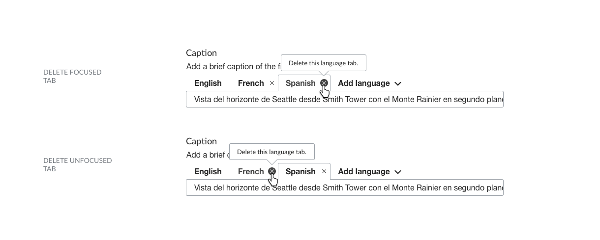 File:Multilingual Captions wireframe - deleting French png