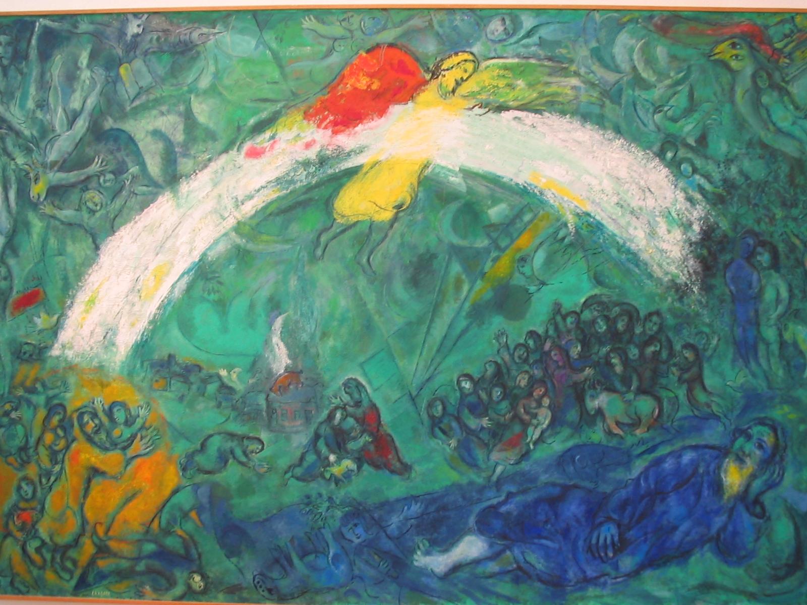 File:Musée national message biblique Marc Chagall ... Chagall Bijbel