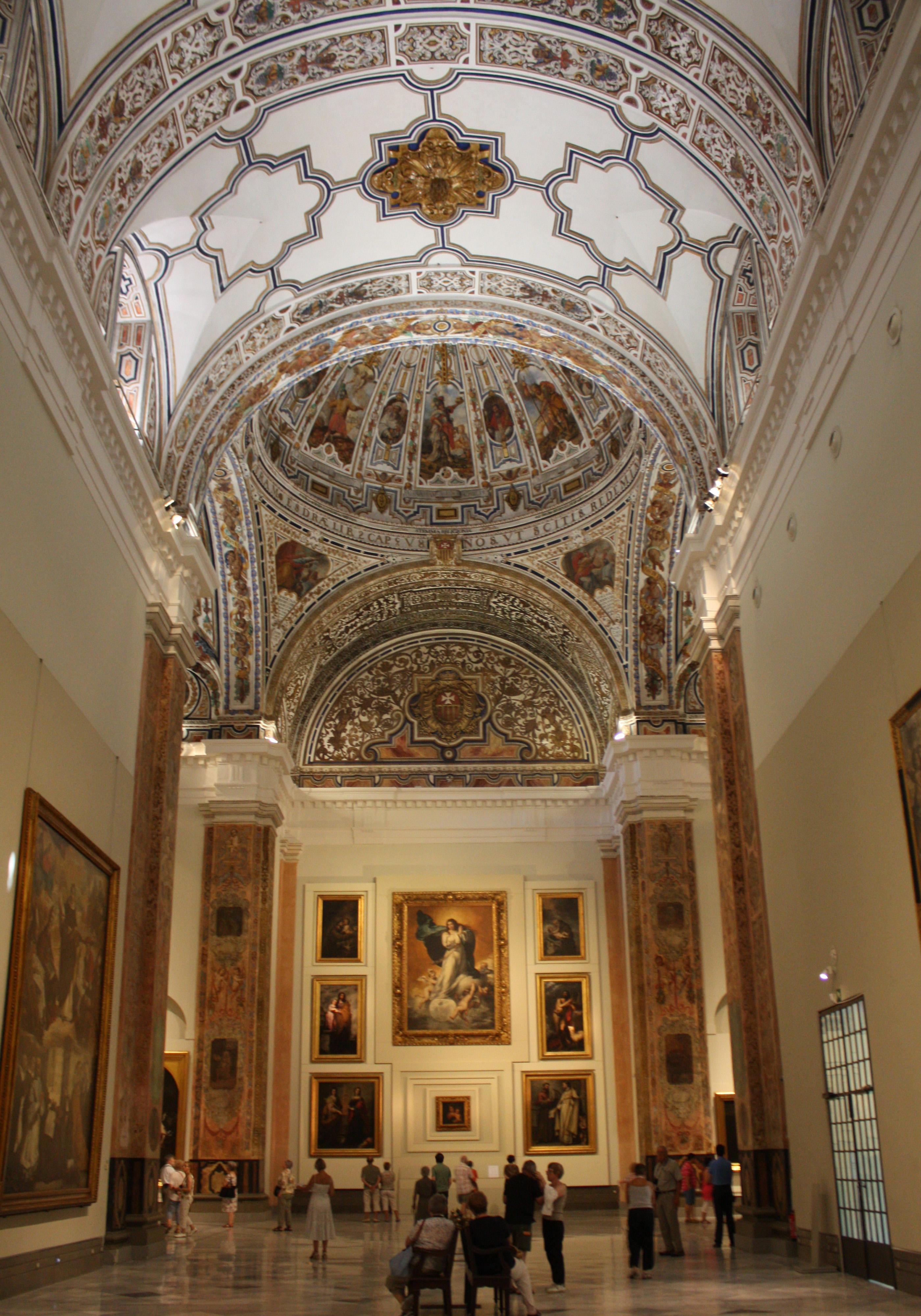 File:Museo de Bellas Artes de Sevilla-Iglesia del Convento de La Merced-20110...