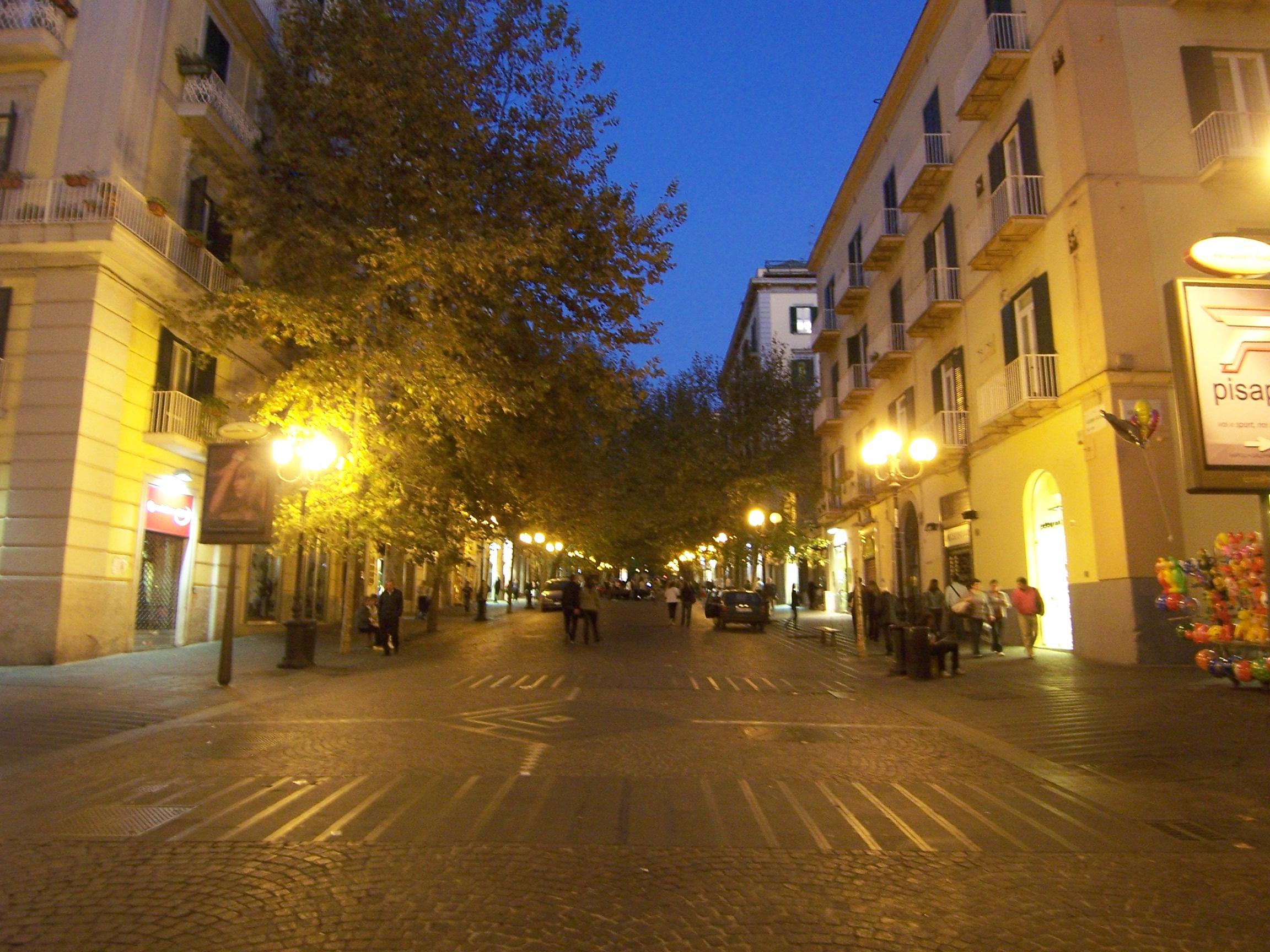 Napoli Da Via Toledo A Villa Banddini Mezi Pubblici