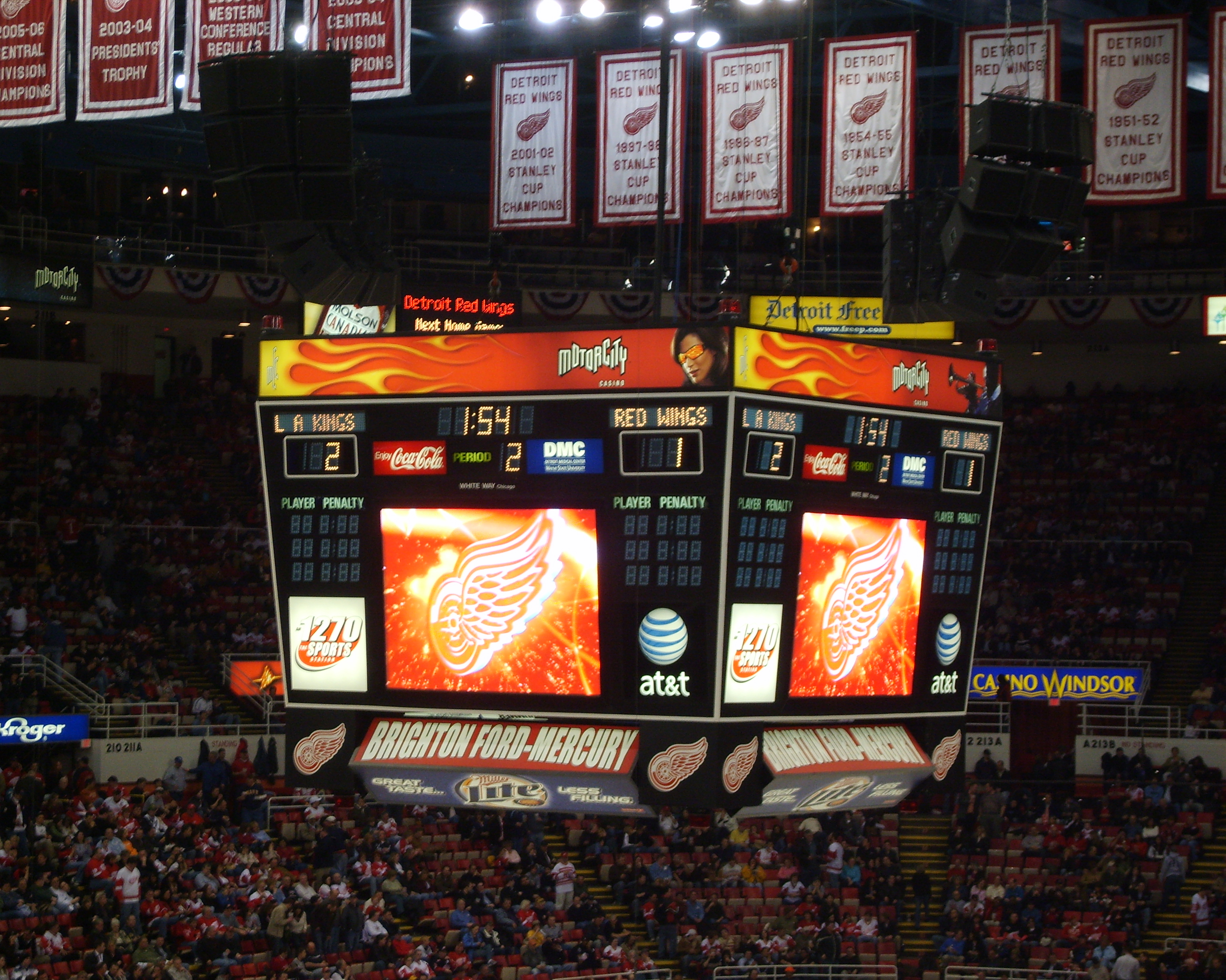 Best And Worst Scoreboards In The Nhl Hfboards