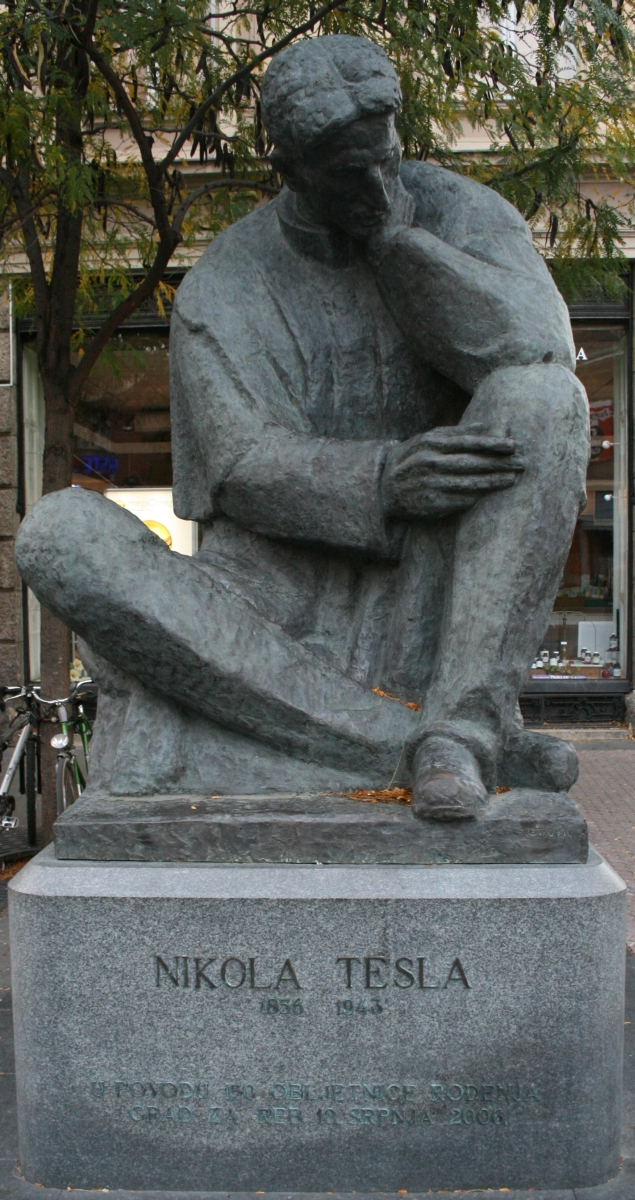 Ivan Meštrović Nikola_Tesla_kip