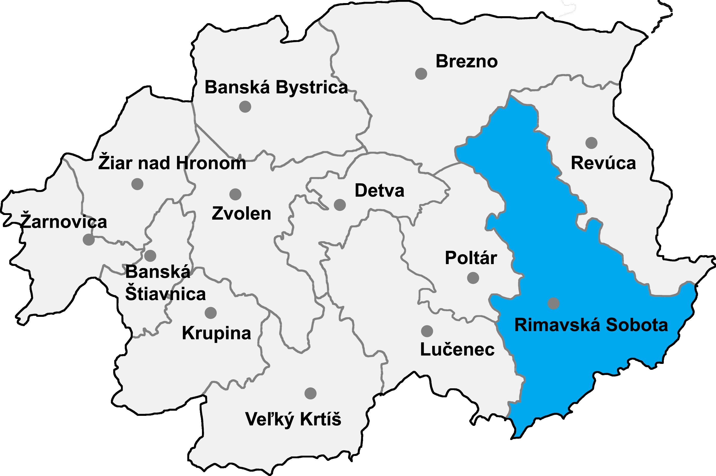 Bildergebnis für rimavska sobota mapa