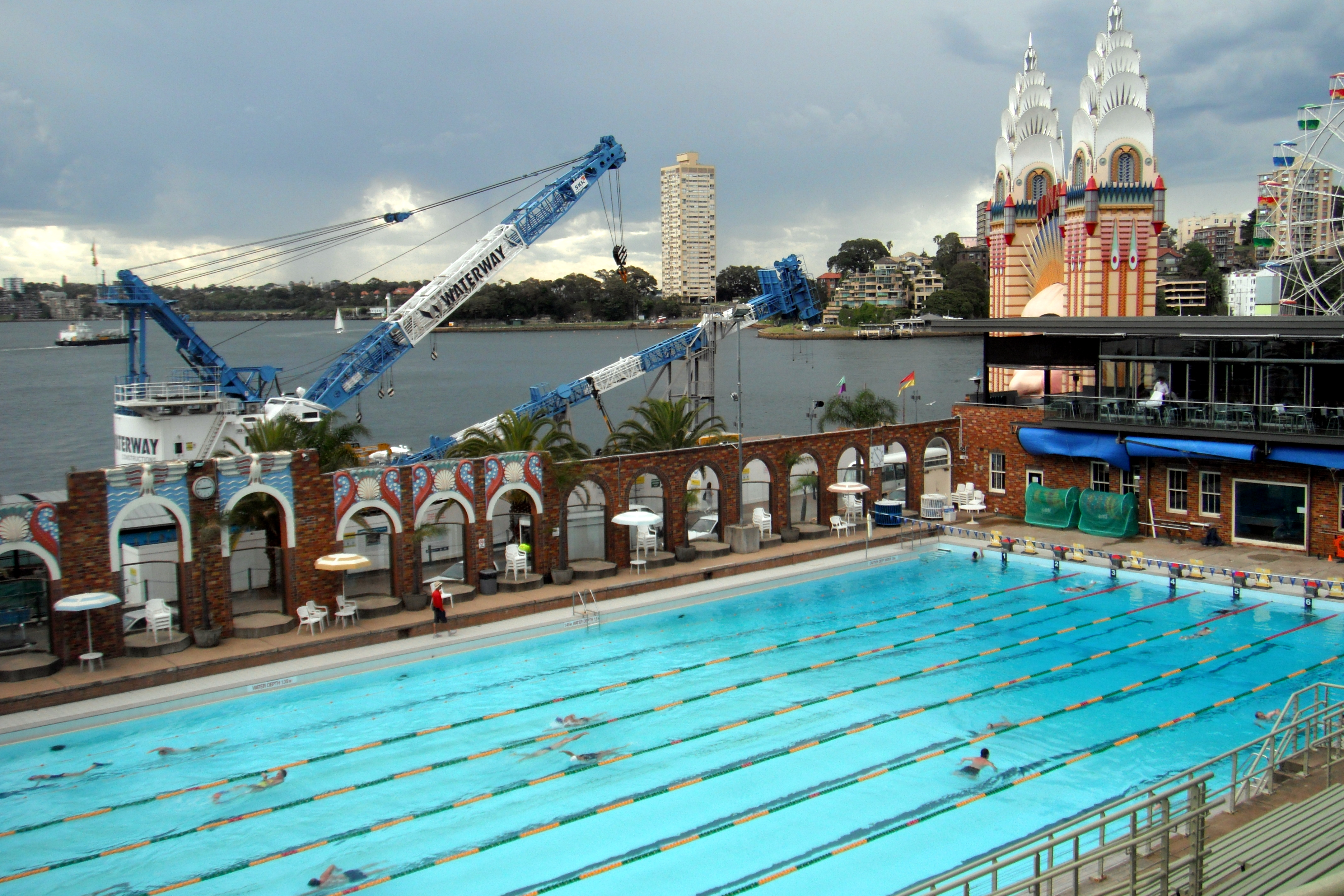 File Olimpic Swimming Pool Sydney Jpg Wikimedia Commons