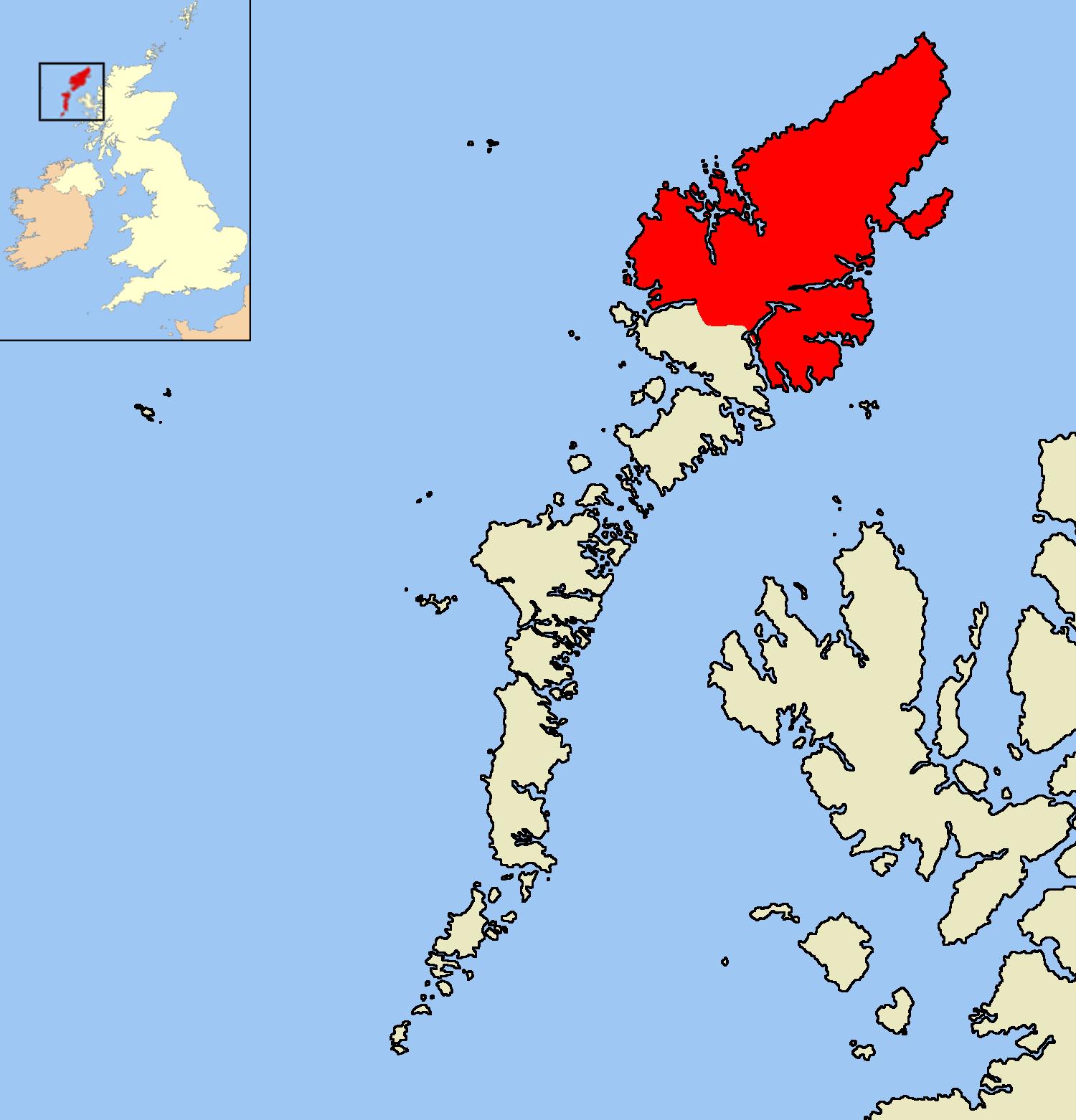 Isle Of Lewis Map Isle of Lewis   Wikipedia