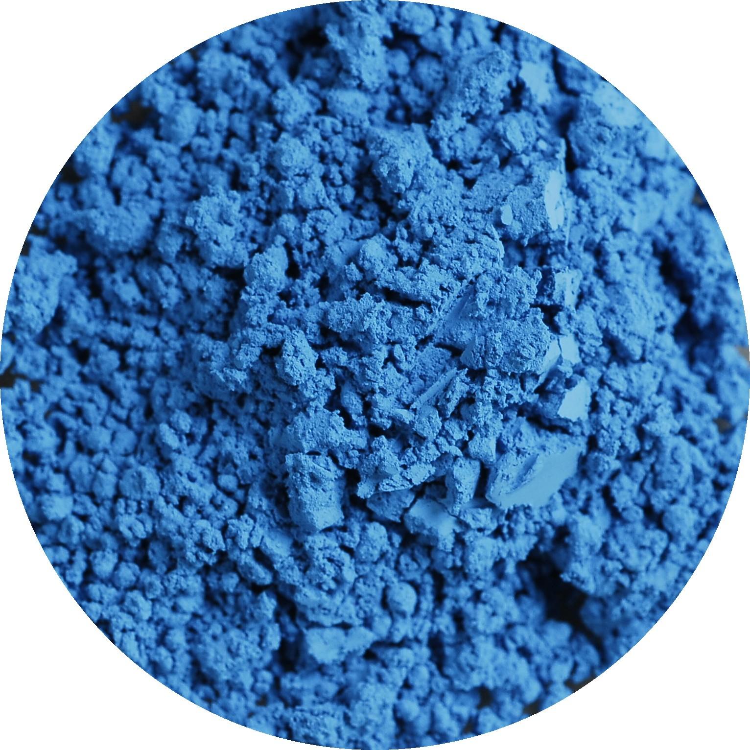 Cerulean blue PB35, photo by Stephzzz