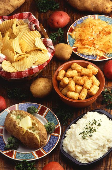 Картофель в кулинарии — Википедия