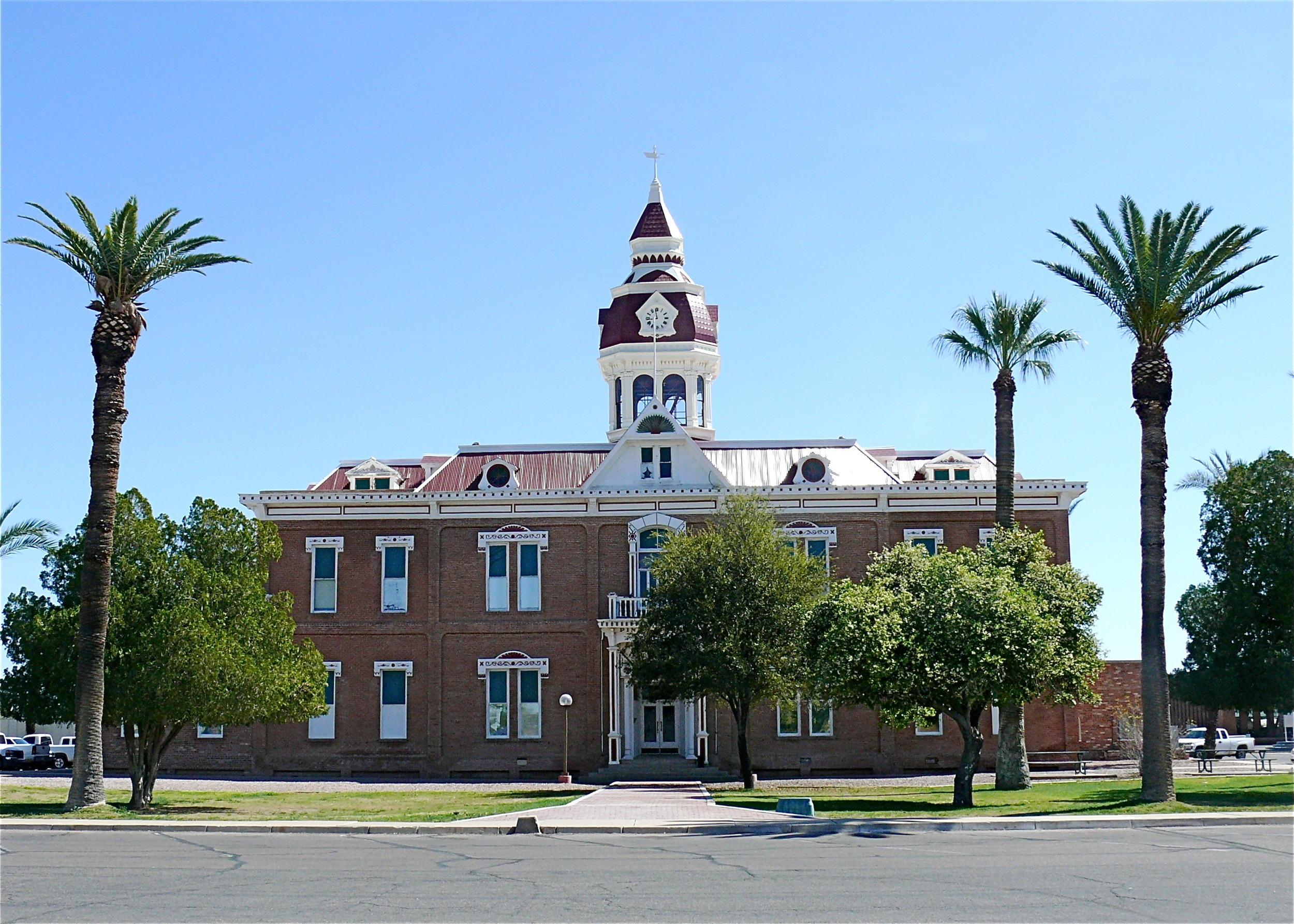 File Pinal County Courthouse Florence