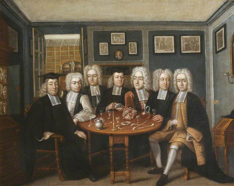 ''Portrait of Thomas and John Cockman and some Fellows of University College'' by [[Benjamin Ferrers