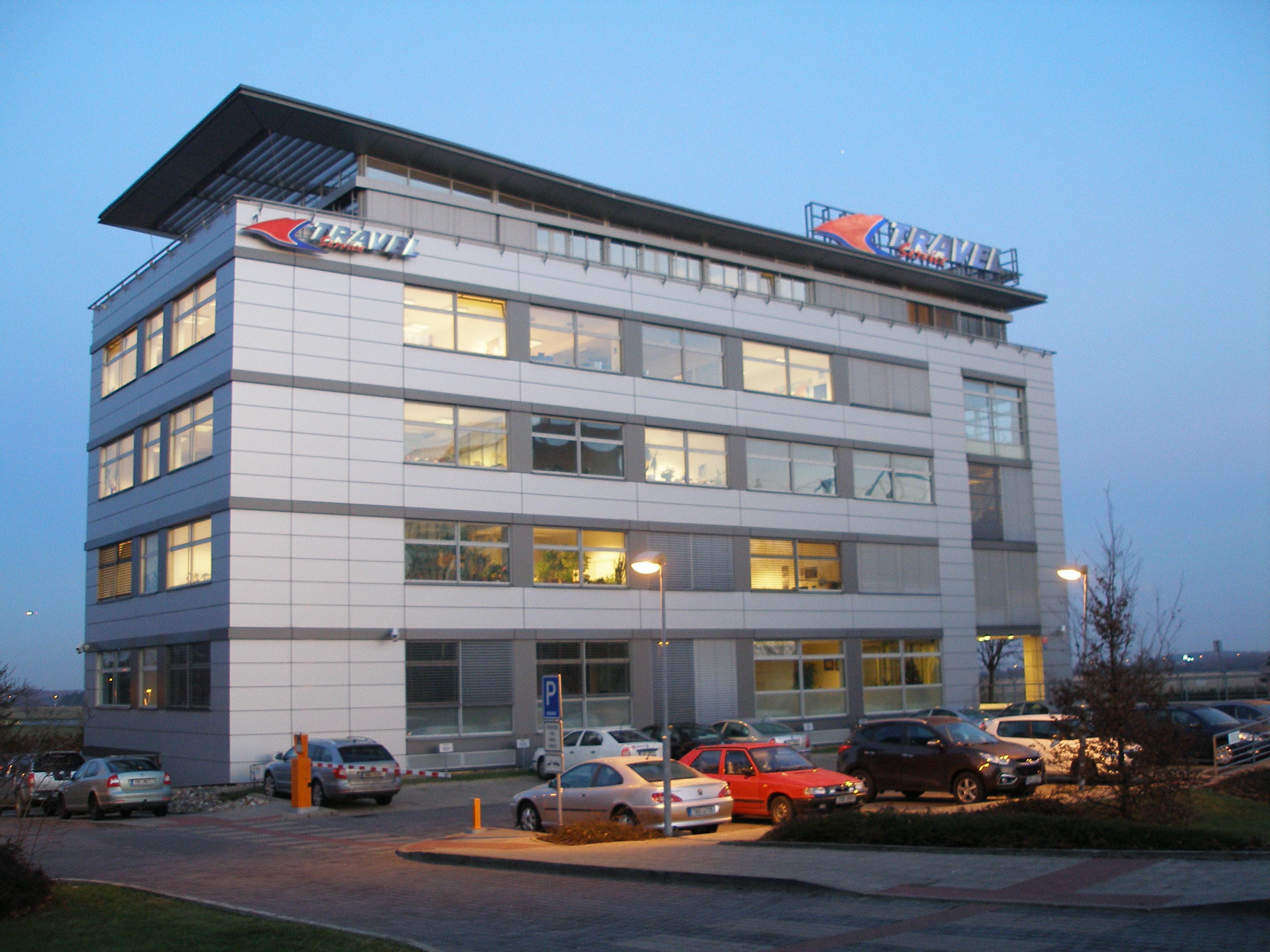 File:Prague, Head office of Travel Service (2).JPG ...