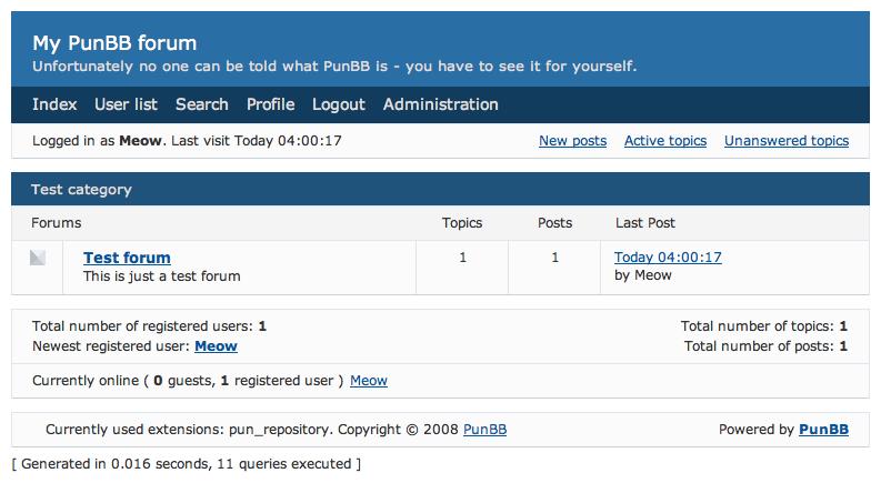 Punbb - forum jaki skrypt wybrać