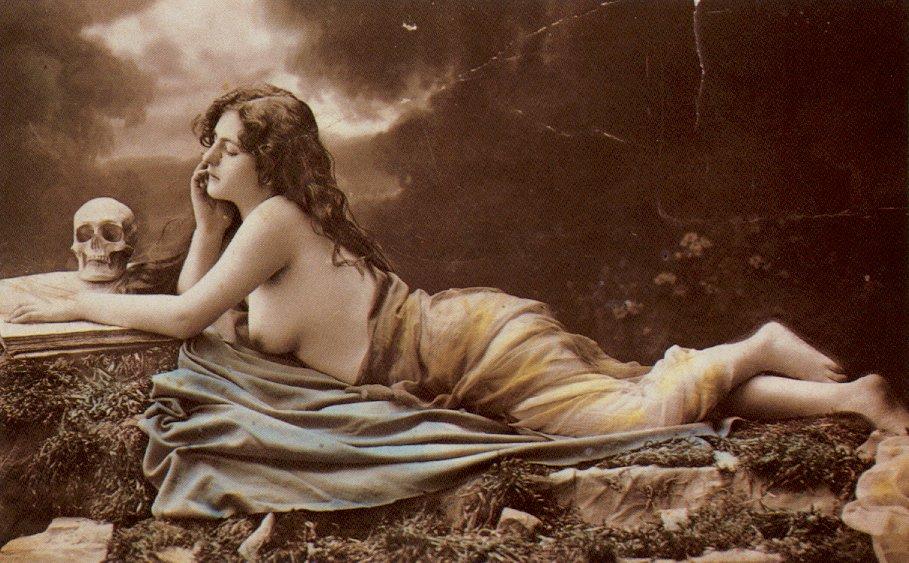 Ню старинные открытки, поздравлением ларисы картинка